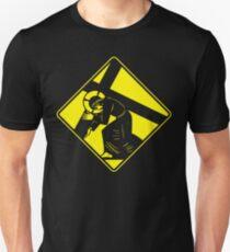 Jesus on a Crosswalk  Unisex T-Shirt