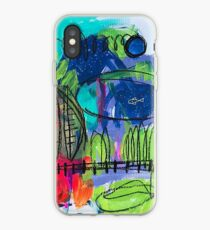 niedliche Fischkunst iPhone-Hülle & Cover