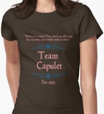 Team Capulet Womens Fitted T-Shirt