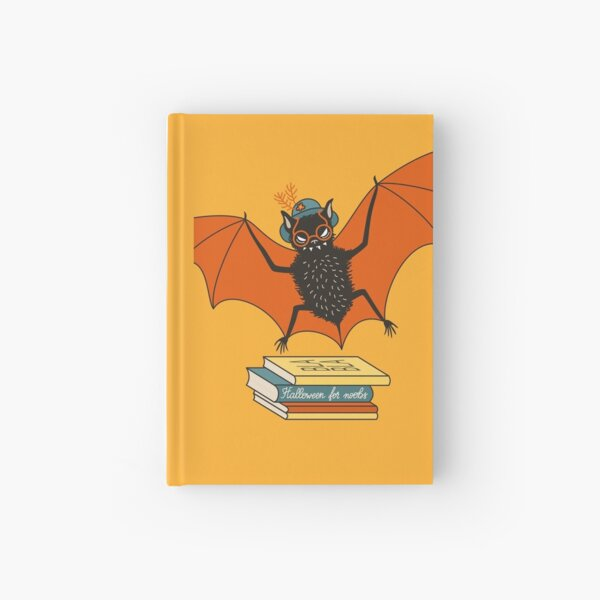 Bat granny in the library  Hardcover Journal