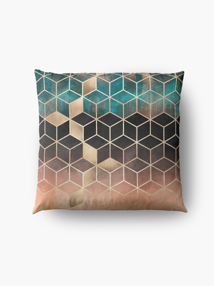 Alternate view of Ombre Dream Cubes Floor Pillow