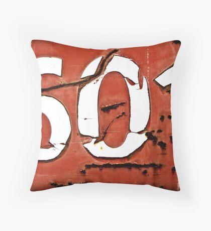 601 Throw Pillow