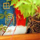 Cat dreams by aleksandra15