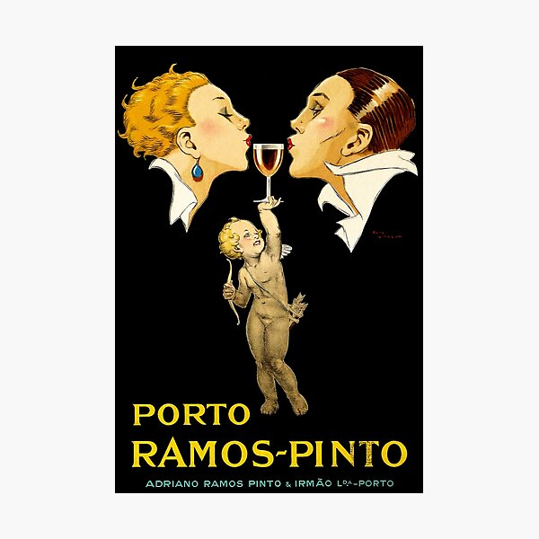 Porto Ramos Pinto by Rene Vincent Photographic Print
