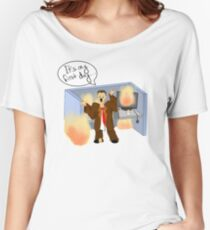 It's my first day Women's Relaxed Fit T-Shirt