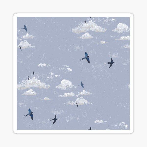 May Swallows II Sticker