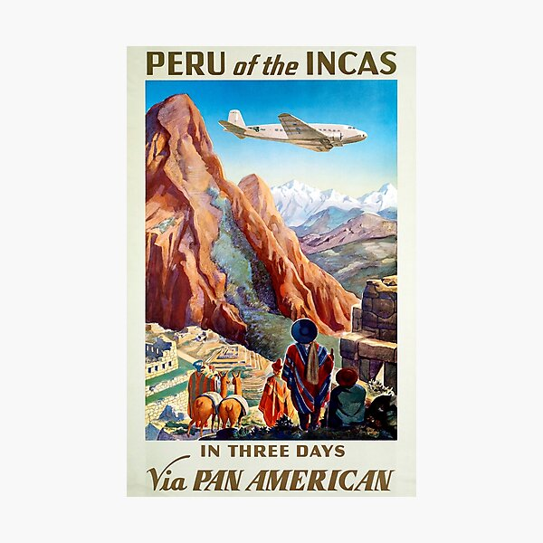 Peru of the Incas  Photographic Print