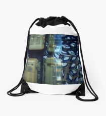 I Wish I Could Go Back In Time And Start Again. Drawstring Bag