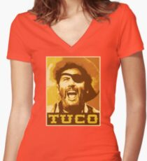 Tuco Women's Fitted V-Neck T-Shirt