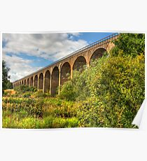 Viaduct over the Avon Valley Poster