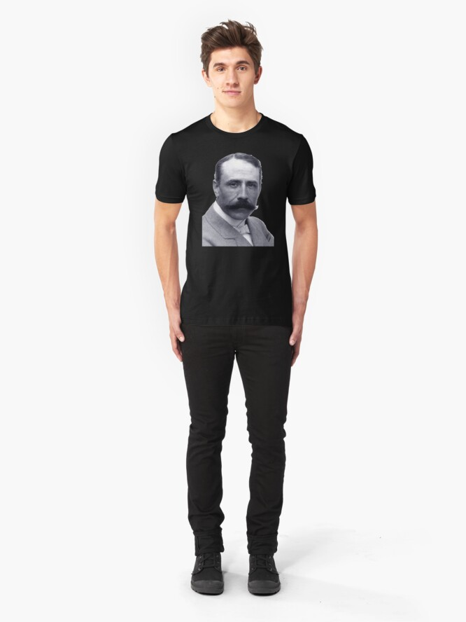 Alternate view of Edward Elgar - Brilliant English Composer Slim Fit T-Shirt