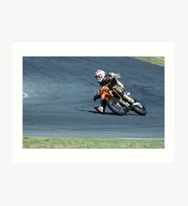 Supermoto Technique Art Print