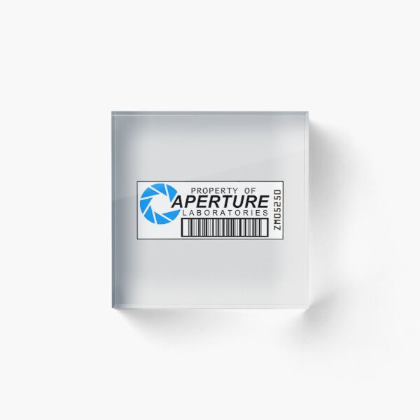 Aperture Laboratories Acrylic Block