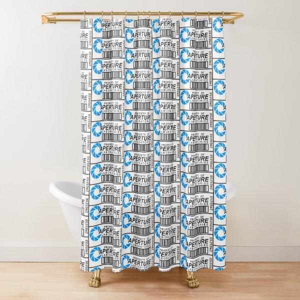 Aperture Laboratories Shower Curtain