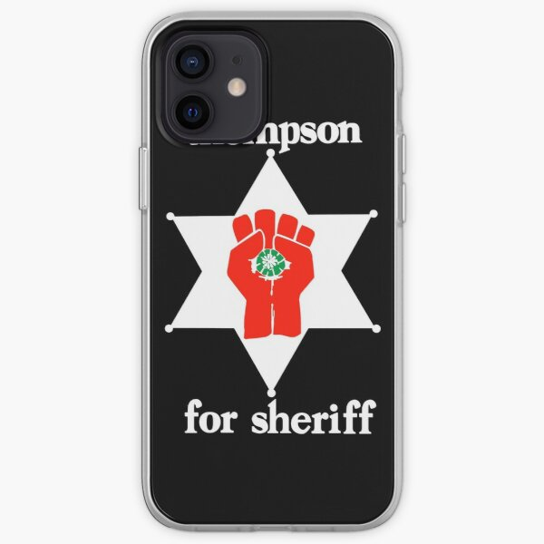 Thompson For Sheriff  iPhone Soft Case
