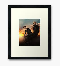 All for the game - Rooftops Framed Print