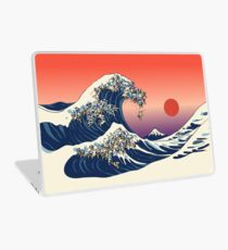 The Great Wave of Pug Laptop Skin
