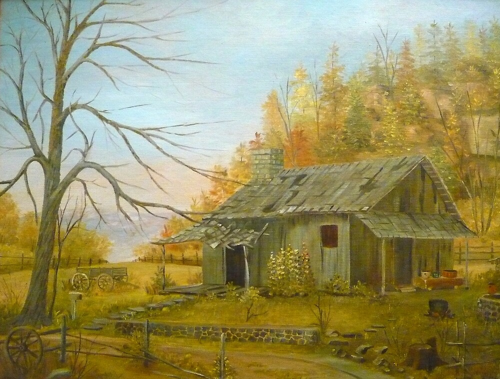 Cabin in the Hills by Vivian Eagleson