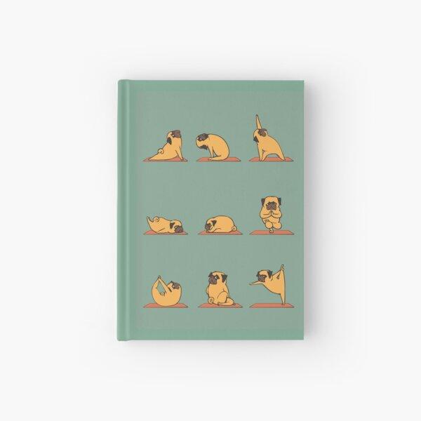 Pug Yoga Hardcover Journal