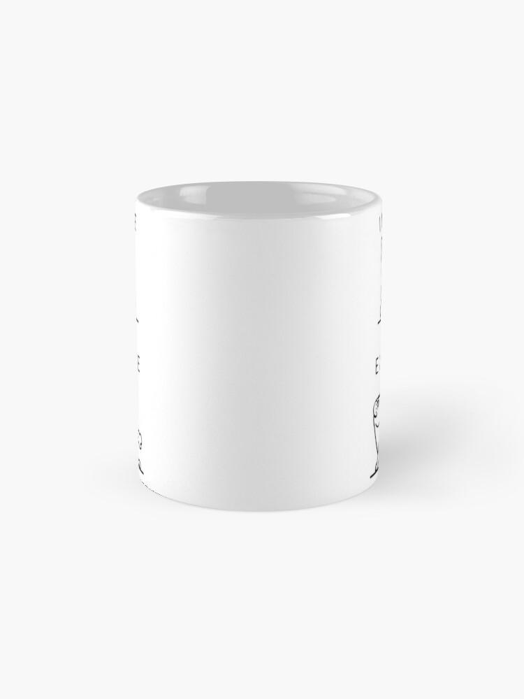 Alternate view of Inhale Exhale Frenchie Mug