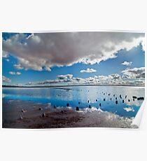 Lake Hart reflections Poster