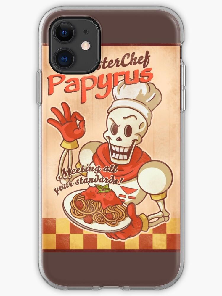 coque iphone 8 papyrus