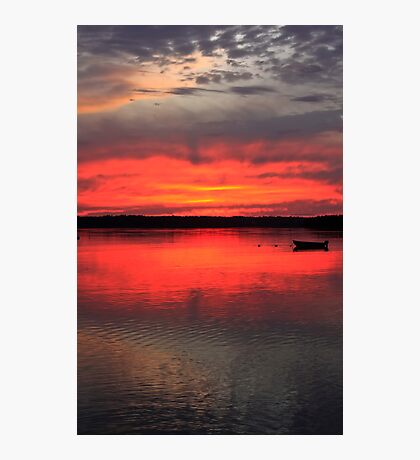 Hadley Point Sunset II Photographic Print