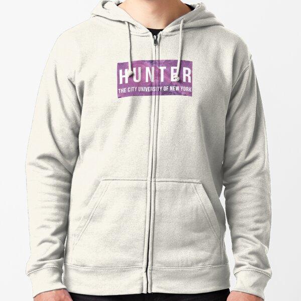 Hunter College Zipped Hoodie
