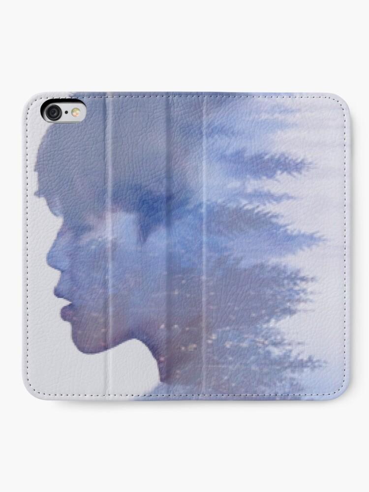 Alternative Ansicht von Jimin Bäume iPhone Flip-Case