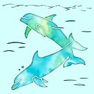 Aqua Sea Dolphins by ferinefire