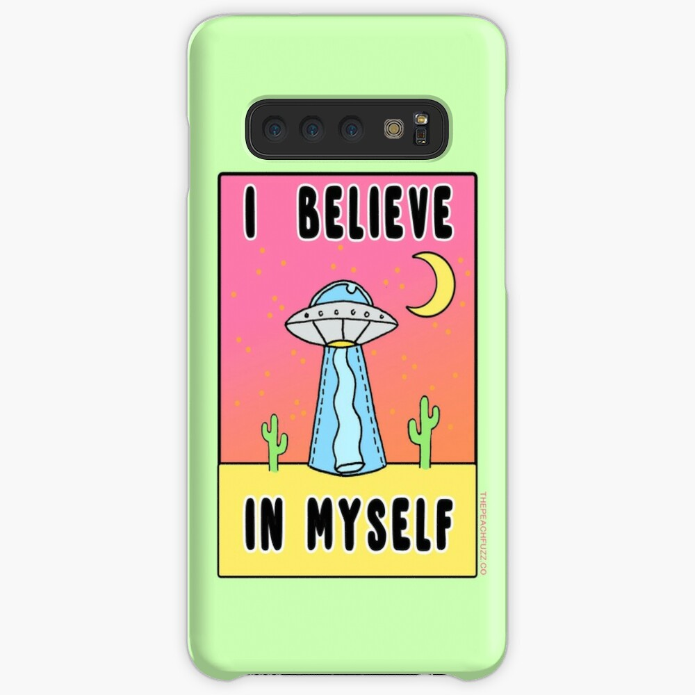 I Believe In Myself - The Peach Fuzz Cases & Skins for Samsung Galaxy