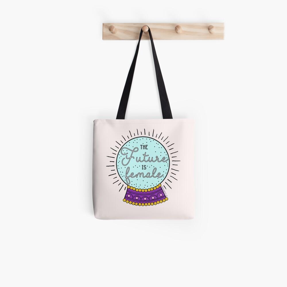 The Future Is Female - The Peach Fuzz Tote Bag