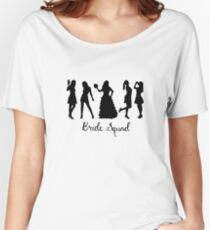 Bride Squad Design Relaxed Fit T-Shirt