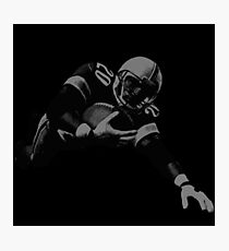 Flying Football Player Collection Photographic Print