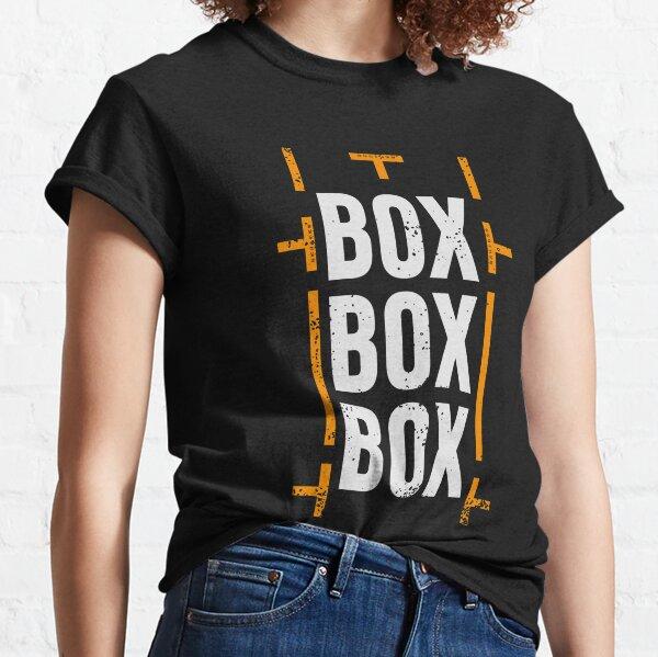 'Box Box Box' Formula 1 Racing Pitstop Design  Classic T-Shirt