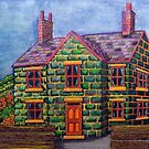 444 - THE GREEN HOUSE - DAVE EDWARDS - MIXED MEDIA - 2019 by BLYTHART