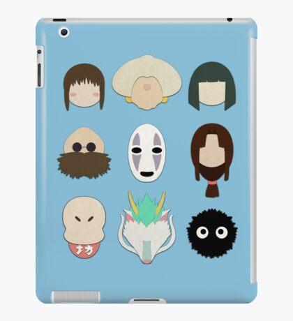 Spirited Away (Minimalistic)  iPad Case/Skin