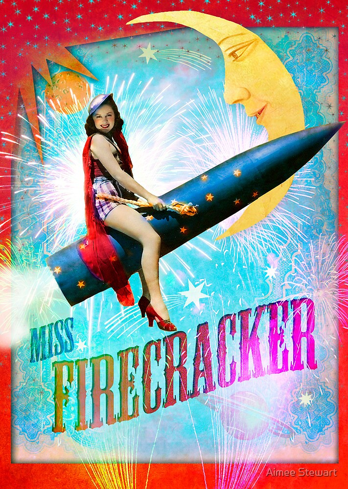 quotmiss firecrackerquot by aimee stewart redbubble