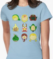 The Wind Waker (Minimalistic)  Women's Fitted T-Shirt