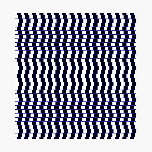 Visual Illusion #VisualIllusion Optical #OpticalIllusion #percept #reality Photographic Print