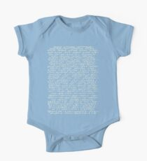 The Standard Model - A Love Poem Kids Clothes