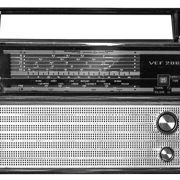 Old Russian Radio VEF 206 by ARGO