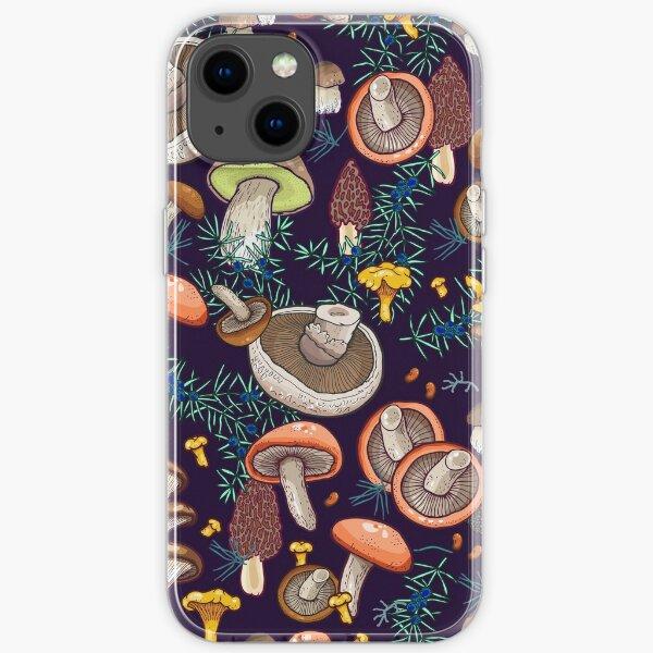 Dark dream forest iPhone Soft Case