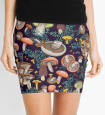 Dark dream forest Mini Skirt