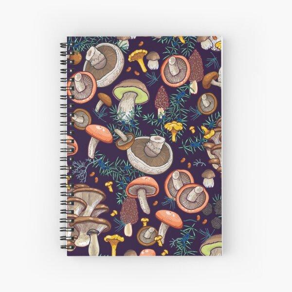 Dark dream forest Spiral Notebook