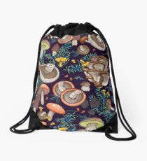 Dark dream forest Drawstring Bag