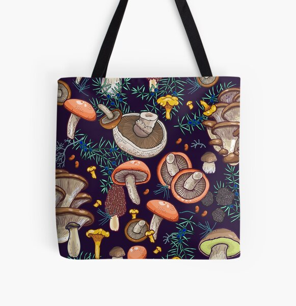 Dark dream forest All Over Print Tote Bag