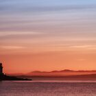 Islay: Port Charlotte Lighthouse Sunrise by IslayFineArt