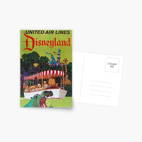 Vintage Airline Travel Poster - Florida Postcard
