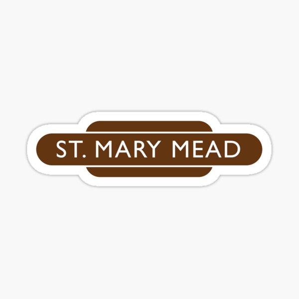 St Mary Mead Railway Station Sticker
